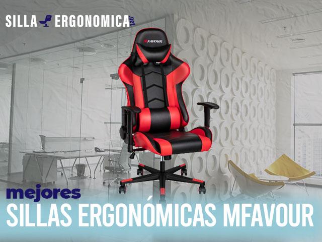 mejores sillas ergonómicas Mfavour