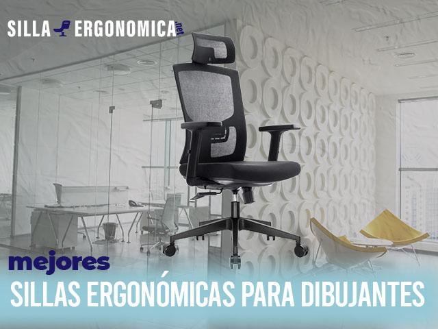 mejores sillas ergonómicas para dibujantes
