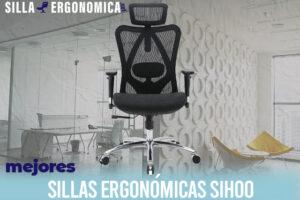 Las mejores sillas ergonómicas de oficina Sihoo
