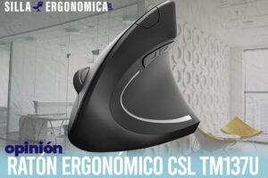CSL TM137U | El mejor ratón ergonómico vertical barato del mercado