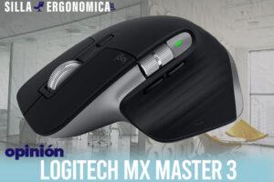 Logitech MX Master 3 | El mejor ratón ergonómico horizontal