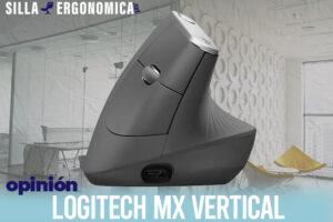 Logitech MX Vertical | El mejor ratón ergonómico vertical del mercado