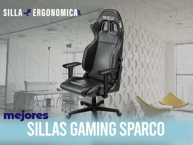 mejores sillas gaming Sparco