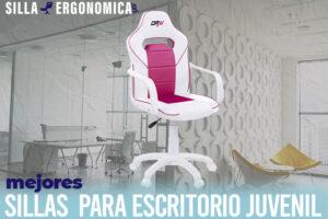 Las mejores sillas para escritorio juveniles del mercado