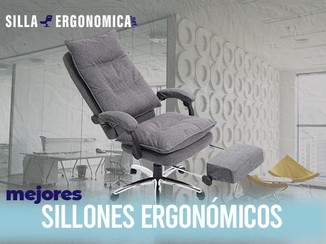 mejores sillones ergonómicos para oficina